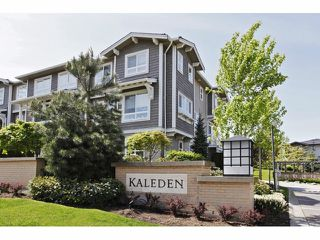 "Photo 1: 133 2729 158TH Street in Surrey: Grandview Surrey Townhouse for sale in ""KALEDEN"" (South Surrey White Rock)  : MLS®# F1411396"