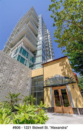 "Photo 20: 806 1221 BIDWELL Street in Vancouver: West End VW Condo for sale in ""Alexandra"" (Vancouver West)  : MLS®# R2019706"