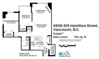 "Photo 20: 808 819 HAMILTON Street in Vancouver: Downtown VW Condo for sale in ""EIGHT ONE NINE"" (Vancouver West)  : MLS®# R2118682"