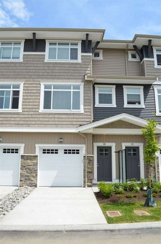 "Photo 1: 20 34230 ELMWOOD Drive in Abbotsford: Central Abbotsford Townhouse for sale in ""Ten Oaks"" : MLS®# R2175066"