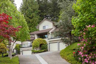 "Photo 1: 5728 OWL Court in North Vancouver: Grouse Woods Townhouse for sale in ""Spyglass Hill"" : MLS®# R2266882"