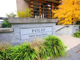 "Photo 2: 111 5955 IONA Drive in Vancouver: University VW Condo for sale in ""FOLIO"" (Vancouver West)  : MLS®# R2269280"