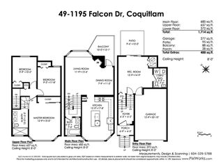 "Photo 20: 49 1195 FALCON Drive in Coquitlam: Eagle Ridge CQ Townhouse for sale in ""THE COURTYARDS"" : MLS®# R2447677"