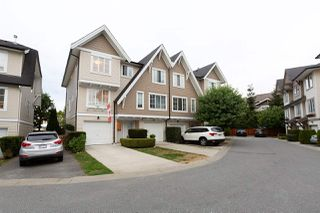 """Photo 1: 63 20540 66 Avenue in Langley: Willoughby Heights Townhouse for sale in """"AMBERLEIGH"""" : MLS®# R2489777"""