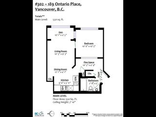 """Photo 14: 302 189 ONTARIO Place in Vancouver: Main Condo for sale in """"Mayfair"""" (Vancouver East)  : MLS®# R2497347"""