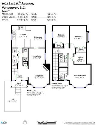 Photo 2: 1021 E 15TH Avenue in Vancouver: Mount Pleasant VE 1/2 Duplex for sale (Vancouver East)  : MLS®# R2501860