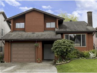 Photo 1: 1182 SHELTER Crescent in Coquitlam: New Horizons House for sale : MLS®# V1062918
