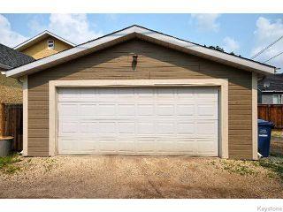 Photo 19: 136 Harrowby Avenue in WINNIPEG: St Vital Residential for sale (South East Winnipeg)  : MLS®# 1518220