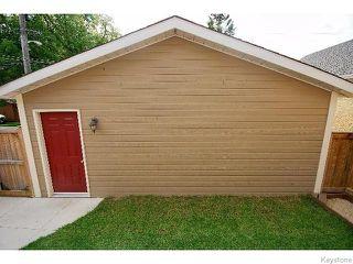 Photo 18: 136 Harrowby Avenue in WINNIPEG: St Vital Residential for sale (South East Winnipeg)  : MLS®# 1518220