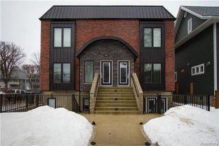 Photo 1: 1 924 Dorchester Avenue in Winnipeg: Crescentwood Condominium for sale (1Bw)  : MLS®# 1730814