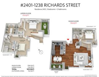 """Photo 20: 2401 1238 RICHARDS Street in Vancouver: Yaletown Condo for sale in """"METROPOLIS"""" (Vancouver West)  : MLS®# R2249261"""