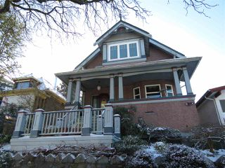 Main Photo: 2110 E 3RD Avenue in Vancouver: Grandview VE House for sale (Vancouver East)  : MLS®# R2253440