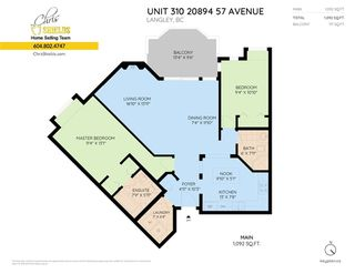 """Photo 2: 310 20894 57 Avenue in Langley: Langley City Condo for sale in """"Bayberry Lane"""" : MLS®# R2276911"""