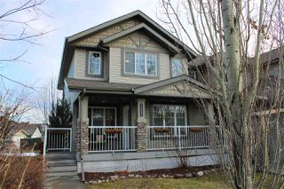 Main Photo: 1385 RUTHERFORD Road in Edmonton: Zone 55 House Half Duplex for sale : MLS®# E4137524