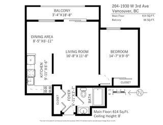 """Photo 16: 204 1930 W 3RD Avenue in Vancouver: Kitsilano Condo for sale in """"The Westview"""" (Vancouver West)  : MLS®# R2348244"""