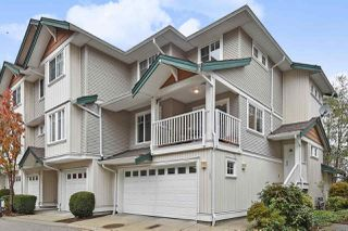 "Photo 1: 126 12711 64 Avenue in Surrey: West Newton Townhouse for sale in ""Pallette on the Park"" : MLS®# R2417889"