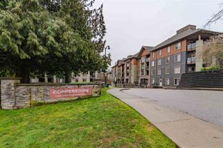 "Photo 1: 3415 240 SHERBROOKE Street in New Westminster: Sapperton Condo for sale in ""COPPERSTONE"" : MLS®# R2442030"