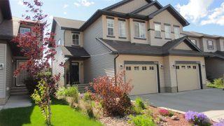 Photo 1: 3616 9 Street NW in Edmonton: Zone 30 House Half Duplex for sale : MLS®# E4206401