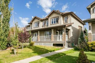 Photo 1: 1517 RUTHERFORD Road in Edmonton: Zone 55 Attached Home for sale : MLS®# E4214808