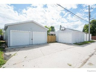 Photo 20: 310 Moray Street in WINNIPEG: St James Residential for sale (West Winnipeg)  : MLS®# 1519921
