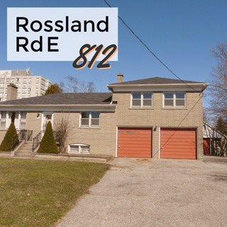 Photo 1: 812 E Rossland Road in Whitby: Pringle Creek House (Sidesplit 4) for lease : MLS®# E3462435