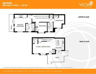 """Photo 16: 2293 E 37 Avenue in Vancouver: Victoria VE Townhouse for sale in """"GEORGE"""" (Vancouver East)  : MLS®# R2210885"""