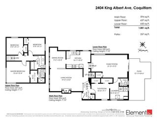Photo 20: 2404 KING ALBERT Avenue in Coquitlam: Central Coquitlam House for sale : MLS®# R2293941
