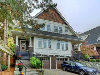 Main Photo: 1 1770 Rockland Avenue in VICTORIA: Vi Rockland Townhouse for sale (Victoria)  : MLS®# 401089
