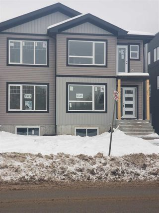 Main Photo: 9325 Connors Road in Edmonton: Zone 18 House Half Duplex for sale : MLS®# E4137466