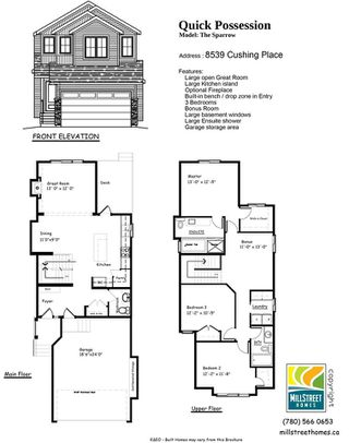 Photo 30: 8539 CUSHING Place in Edmonton: Zone 55 House for sale : MLS®# E4151679