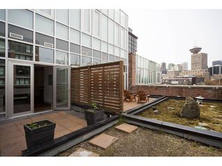 """Photo 2: 602 36 WATER Street in Vancouver: Downtown VW Condo for sale in """"TERMINUS"""" (Vancouver West)  : MLS®# V886960"""