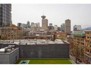 """Photo 9: 602 36 WATER Street in Vancouver: Downtown VW Condo for sale in """"TERMINUS"""" (Vancouver West)  : MLS®# V886960"""
