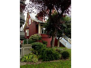 Main Photo: 2275 W 3RD AV in Vancouver: Kitsilano Home for sale (Vancouver West)  : MLS®# V1032629