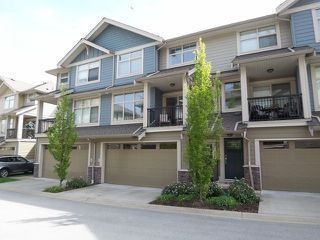 """Photo 1: 50 22225 50TH Avenue in Langley: Murrayville Townhouse for sale in """"Murray's Landing"""" : MLS®# F1409670"""