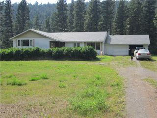 Photo 1: 5791 ROBERTS FTG Road: McLeese Lake House for sale (Williams Lake (Zone 27))  : MLS®# N243214