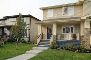 Main Photo: 407 SECORD Boulevard in Edmonton: Zone 58 House Half Duplex for sale : MLS®# E4124382