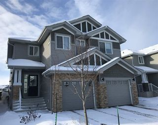 Main Photo: 1306 162 Street in Edmonton: Zone 56 House Half Duplex for sale : MLS®# E4139592