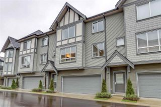 "Photo 1: 77 8138 204 Street in Langley: Willoughby Heights Townhouse for sale in ""Ashbury & Oak"" : MLS®# R2338169"