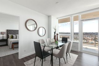 """Photo 6: 3202 908 QUAYSIDE Drive in New Westminster: Quay Condo for sale in """"Riversky 1"""" : MLS®# R2410359"""
