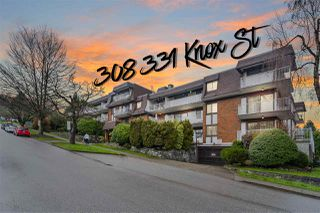 "Photo 1: 308 331 KNOX Street in New Westminster: Sapperton Condo for sale in ""Westmount Arms"" : MLS®# R2528275"