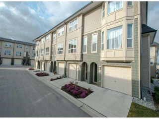 "Photo 1: 79 7938 209 Street in Langley: Willoughby Heights Townhouse for sale in ""Red Maple Park"" : MLS®# F1413572"