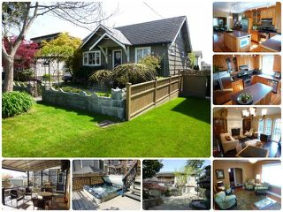 Photo 1: 2140 DUBLIN Street in New Westminster: Connaught Heights House for sale : MLS®# V1115352