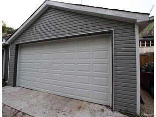 Photo 20: 798 Honeyman Avenue in WINNIPEG: West End / Wolseley Residential for sale (West Winnipeg)  : MLS®# 1525670