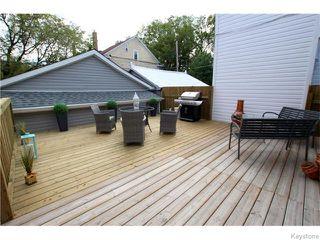 Photo 30: 798 Honeyman Avenue in WINNIPEG: West End / Wolseley Residential for sale (West Winnipeg)  : MLS®# 1525670