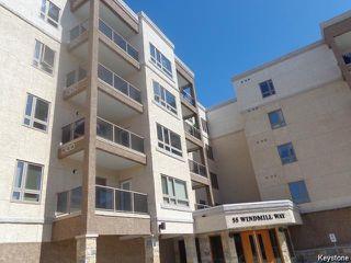 Photo 1: 55 Windmill Way in WINNIPEG: Charleswood Condominium for sale (South Winnipeg)  : MLS®# 1528167