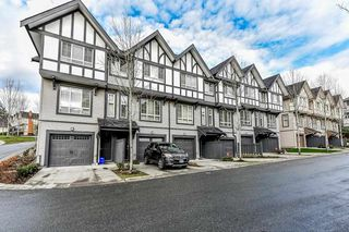 Photo 1: 12 1338 HAMES Crescent in Coquitlam: Burke Mountain Townhouse for sale : MLS®# R2332337