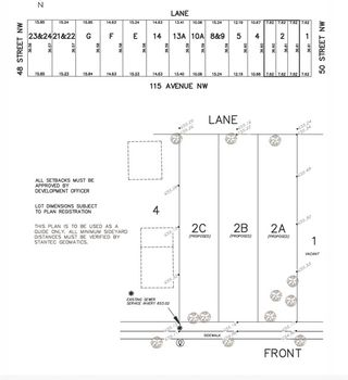 Photo 1: 4841 115 Avenue in Edmonton: Zone 23 Vacant Lot for sale : MLS®# E4218127