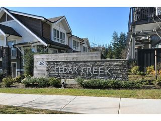 "Photo 18: 144 1460 SOUTHVIEW Street in Coquitlam: Burke Mountain Townhouse for sale in ""CEDAR CREEK"" : MLS®# V1049640"