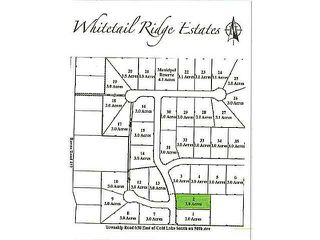 Photo 1: Lot 2 Whitetail Ridge Estates: Rural Bonnyville M.D. Rural Land/Vacant Lot for sale : MLS®# E3394434