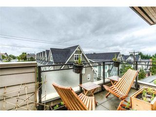 """Photo 10: 3655 COMMERCIAL Street in Vancouver: Victoria VE Townhouse for sale in """"BRIX II"""" (Vancouver East)  : MLS®# V1099787"""